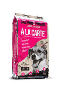 A La Carte Salmon & Potato Low Grain, Dog Food, Crazy Dog Lady