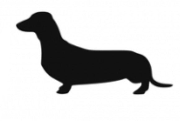 Stickers - Dachshund Smooth, Sticker, Crazy Dog Lady