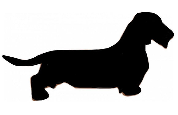 Stickers - Dachshund Wire Haired, Sticker, Crazy Dog Lady