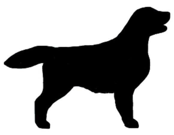 Stickers - Flat Coat Retriever, Sticker, Crazy Dog Lady