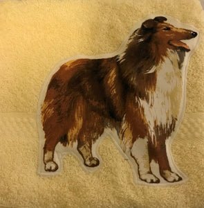 Hand Towel - Larger Size, Towel, Crazy Dog Lady