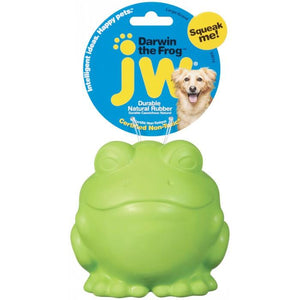 JW Darwin The Frog, Toys, Crazy Dog Lady