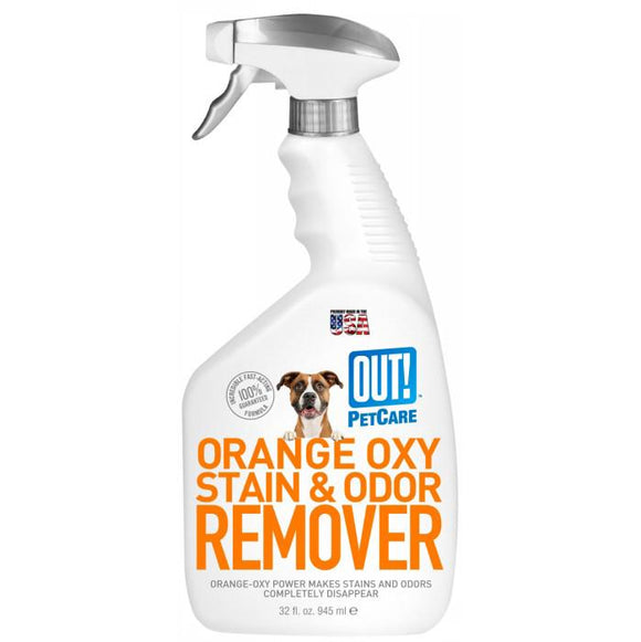 OUT! Petcare Orange Oxy-Fast Stain & Odour Remover, Stain Remover, Crazy Dog Lady