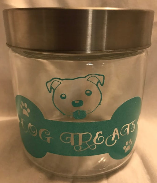 Treat Jars, Treat Jar, Crazy Dog Lady
