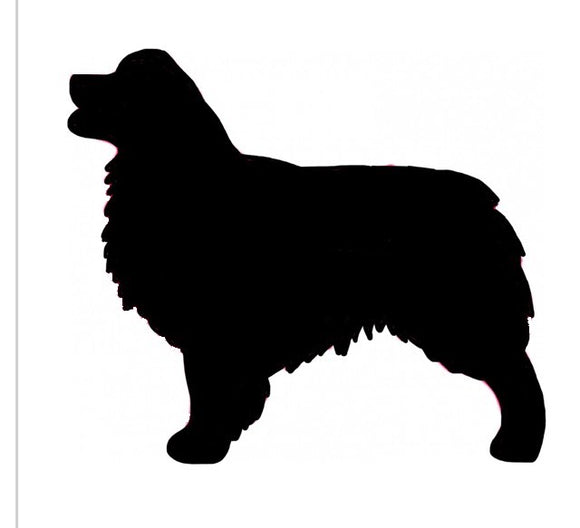 Stickers - Aussie Shepherd, Sticker, Crazy Dog Lady
