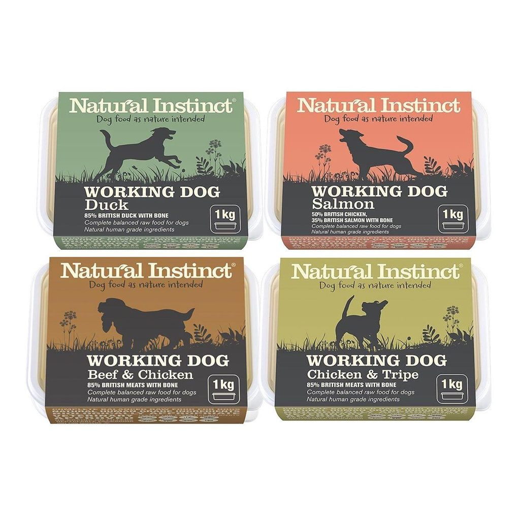 Natural Instinct Working Dog Range Imperial Pets