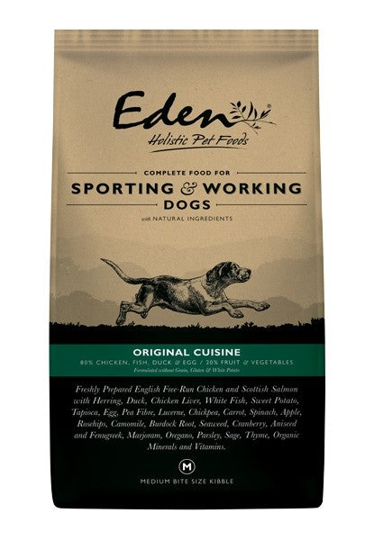 Eden Working Dog Dry Food