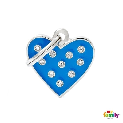 My Family Chic Heart - Blue