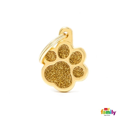 My Family Shine Paw - Gold