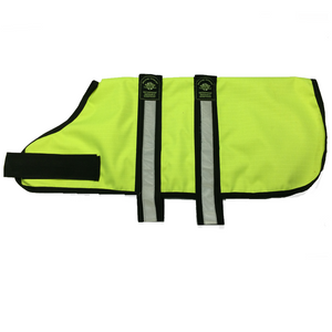 Animate Dog Coat - Hi-Viz Yellow