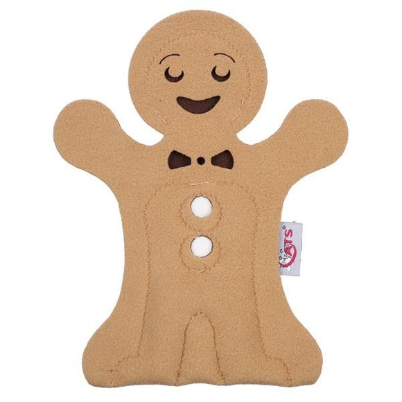 4 Cats Gingerbread Man Catnip XMAS