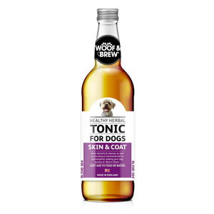 Woof and Brew - Herbal Tonic - Skin and Coat