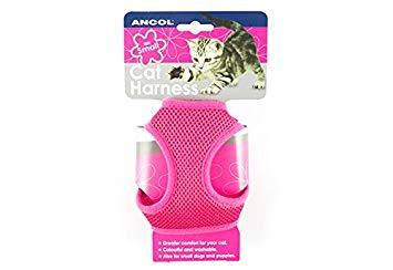 Ancol Cat Harness & Lead Set Pink Large
