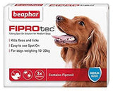 Beaphar Fiprotec Medium Dog x3