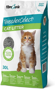 Breeder Celect Paper Cat Litter 30L