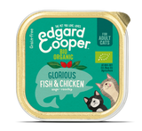 Edgard Cooper Organic Fish & Organic Chicken Cup for Cats