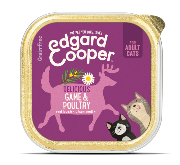 Edgard Cooper Game & Poultry Cup for cats