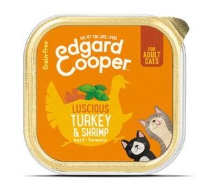 Edgard Cooper Turkey & Shimp Cup for cats