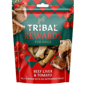 Tribal Rewards Beef Liver & Tomato 125g