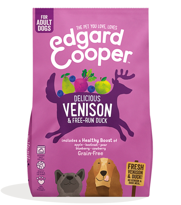 Edgard Cooper Fresh Venison & Free-Run Duck