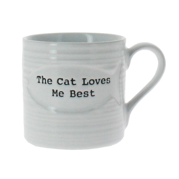 Best in Show Cat Loves Me Best Mug