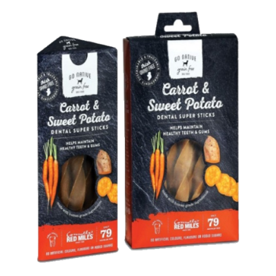 Go Native Super Dental Sticks Carrot & Sweet Potato
