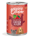 Edgard Cooper Chicken & Salmon Can for Senior Dogs