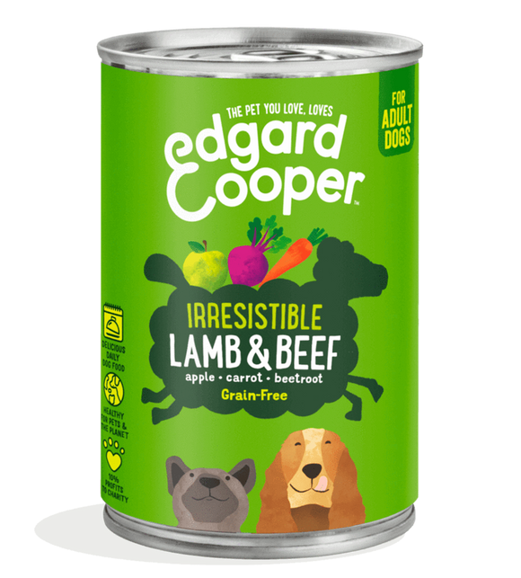 Edgard Cooper Lamb & Beef Can