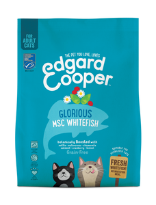 Edgard Cooper Fresh North Atlantic White Fish for cats 1.75kg