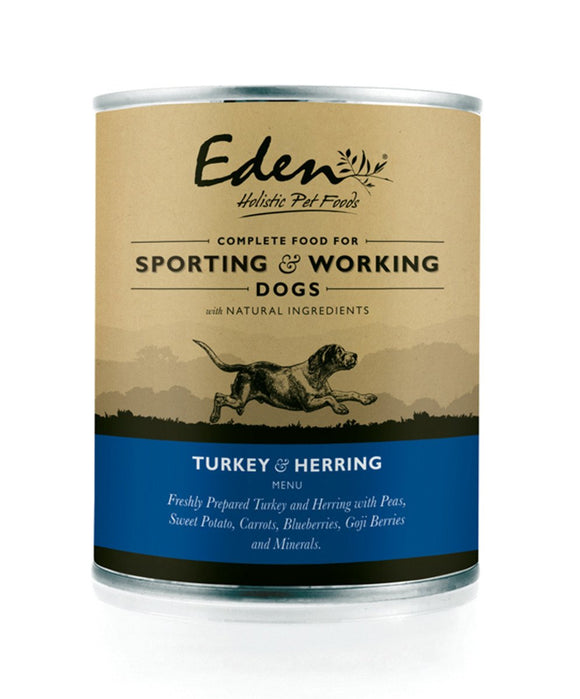 Eden Turkey/Herring Tin