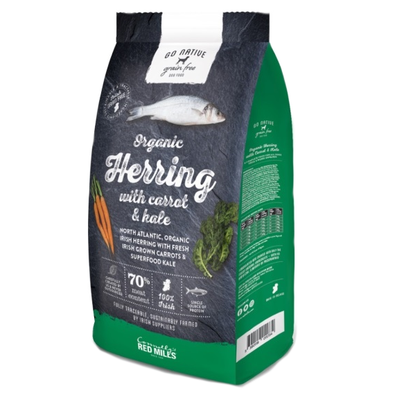 Go Native Herring with Carrot & Kale