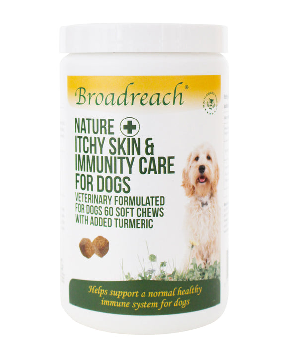 Broadreach Itchy Skin & Immunity Care for Dogs Soft Chews
