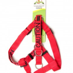 Dexil Friendly Dog Collars - Strap Harness Caution L/XL