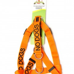 Dexil Friendly Dog Collars - Strap Harness No Dogs L/XL