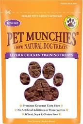 Pet Munchies Liver & Chicken Training Treats 50g