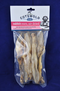 Cotswold Rabbit Ears With Fur