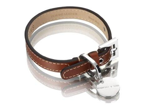 Hennessy & Sons - Collar - Royal - Red Brown Large