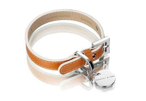 Hennessy & Sons - Collar - Saffiano - Hermes Tan Large