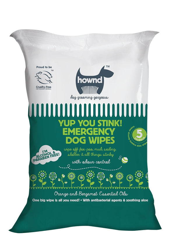 Hownd - Yup You Stink Emergency Wipes
