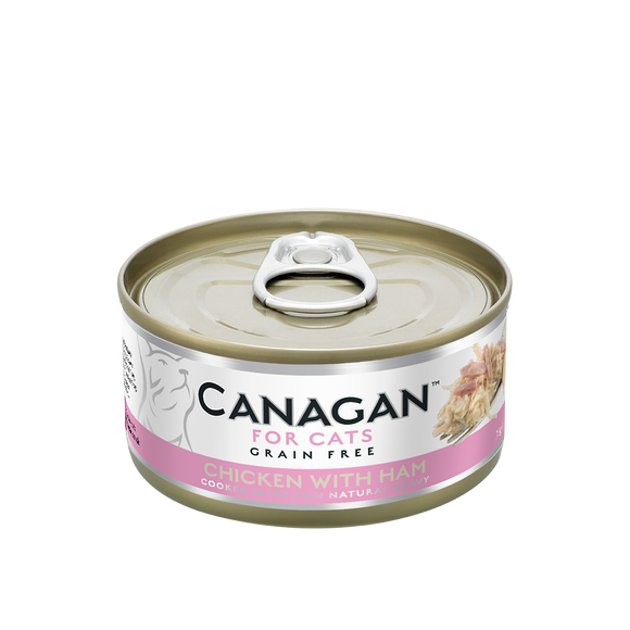 Canagan Cat Tin - Chicken/Ham