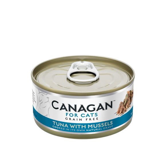 Canagan Cat Tin - Tuna/Mussels