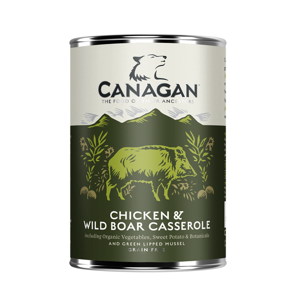 Canagan Dog Tin - Chicken & Wild Boar Casserole