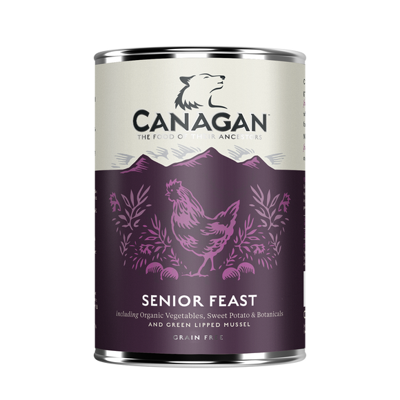 Canagan Dog Tin - Senior Feast