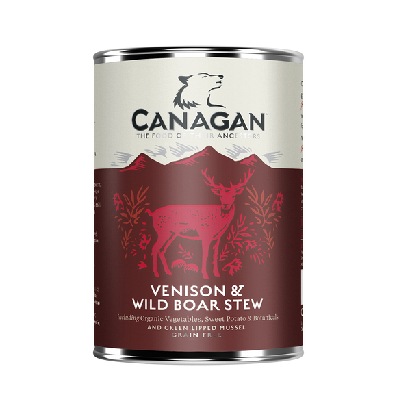 Canagan Dog Tin - Venison & Wild Boar Stew