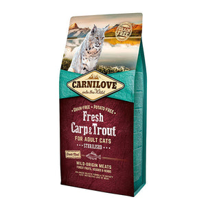 Carnilove Fresh Carp & Trout Dry Cat Food