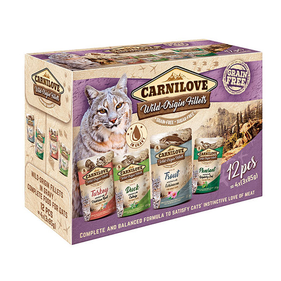 Carnilove Multipack Cat Pouches