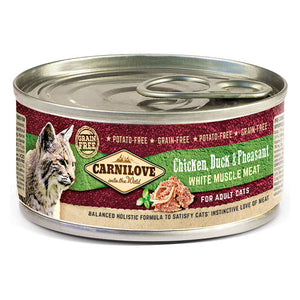 Carnilove Chicken, Duck & Pheasant Wet Cat Food