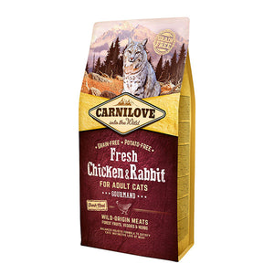 Carnilove Fresh Chicken & Rabbit Dry Cat Food