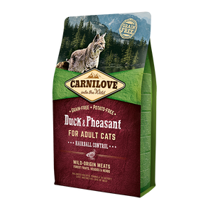 Carnilove Duck & Pheasant Dry Cat Food