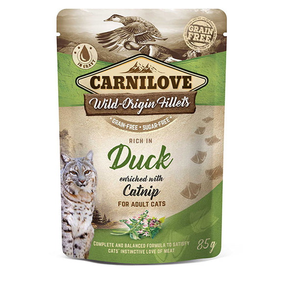 Carnilove Duck with Catnip (Wet Pouch)